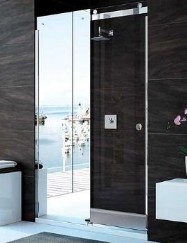 10 Series 1200mm Mirror Sliding Shower Door