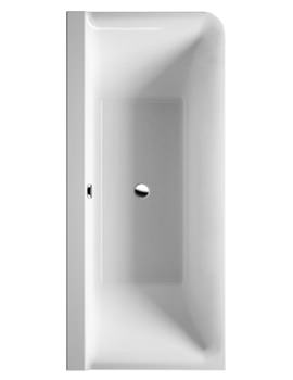 P3 Comforts 1800x800mm Corner Left Bath With Panel - 700379