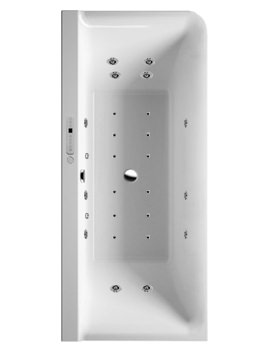 P3 Comforts 1800x800mm Corner Left Bath With Panel - Combi System E