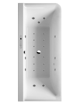 P3 Comforts 1800x800mm Corner Left Bath With Panel - Combi System L