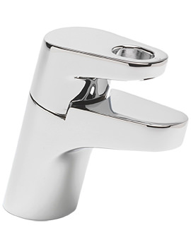 Vento Monobloc Basin Mixer Tap With Sprung Waste