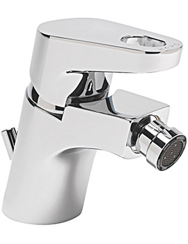 Vento Monobloc Bidet Mixer Tap With Pop-Up Rod Waste