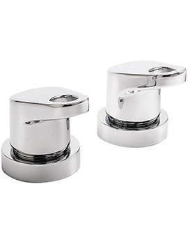 Vento Pair Of 0.75 Inch Deck Mounted Side Valves