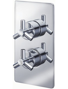 Zone Concealed Thermostatic Shower Valve With 2 Way Diverter