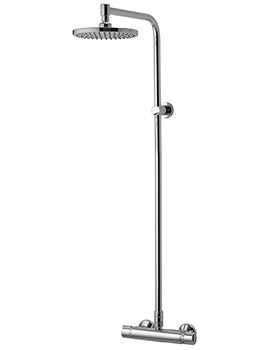 Midas Plus Thermostatic Bar Shower Valve With Head - EX-DISPLAY