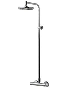 Midas Plus Thermostatic Bar Shower Valve With Head - EX-DISPLAY