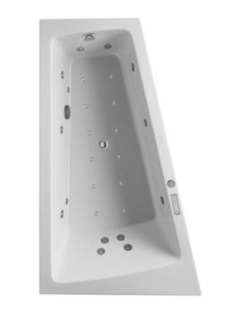 Duravit Paiova 1700 x 1000mm Left Slope Bath With Panel - Combi System E