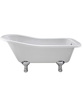Kensington 1500 x 730mm Freestanding Acrylic Bath With Corbel Legs