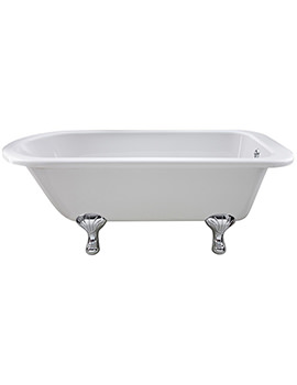 Berkshire 1700 x 750mm Freestanding Acrylic Bath With Corbel Legs