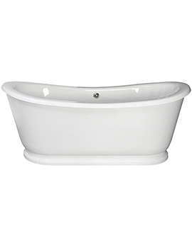 Alice 1740 x 800mm Freestanding Acrylic Slipper Bath
