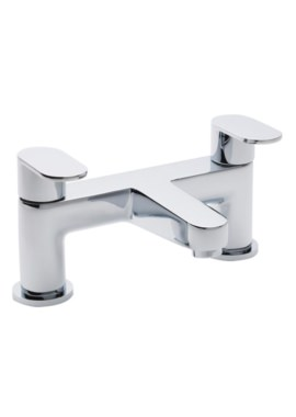 Beo Proportion Deck Mounted Chrome Bath Filler Tap