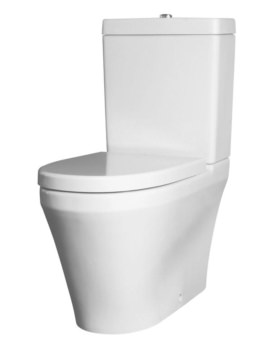 Mellow Flush To Wall Close Coupled WC With Cistern And Seat