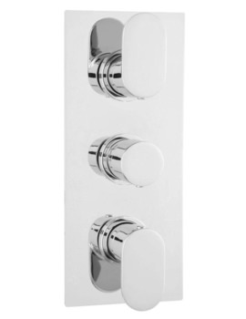 Tranquil Triple Thermostatic Shower Valve