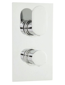 Tranquil Twin Thermostatic Shower Valve With Diverter