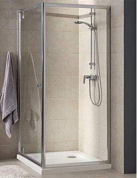 T4 900 x 1900mm Pivot Shower Door - EX-DISPLAY