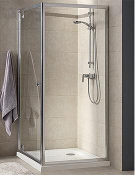 T4 900 x 1900mm Pivot Shower Door - EX-DISPLAY