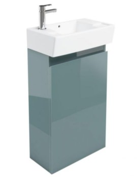 Deep Cloakroom Floor Standing Ocean Unit - Ex Display
