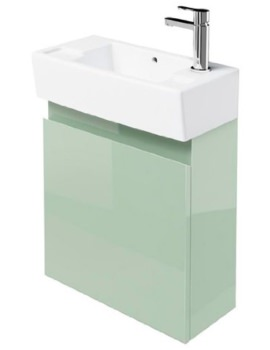 Britton Narrow Cloakroom Wall Mounted Reef Unit - Ex Display
