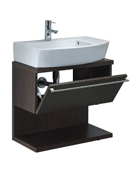Hall 660mm Wenge Finish Base Unit With Pull Down Door