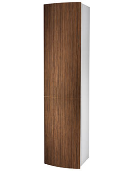 Moda 382 x 370 x 1600mm Teak Tall Furniture Unit - EX-DISPLAY