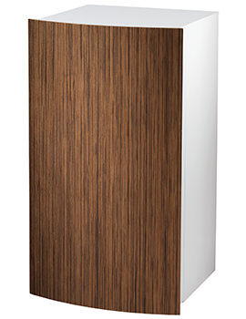 Twyford Moda 382 x 370 x 690mm Teak Side Cabinet - EX-DISPLAY
