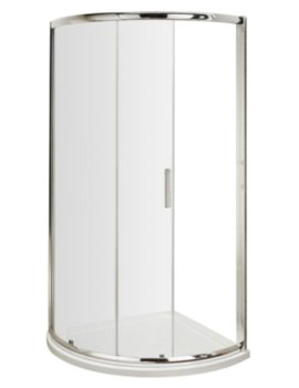 Single Door Framed Quadrant Enclosure 900mm With Tray