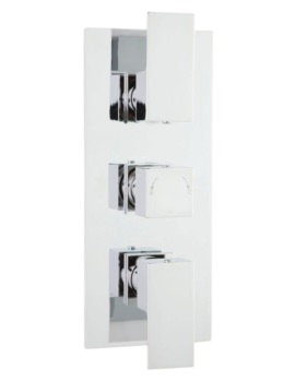 Razor Triple Thermostatic Shower Valve