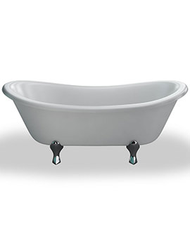 Bateau Freestanding Double Ended Bath 1640 x 700mm