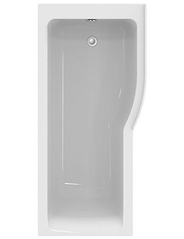Ideal Standard Concept Air 1700 x 800 Right Hand Idealform Plus Shower Bath