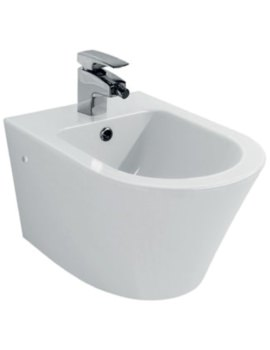 Arco 1 Tap Hole Wall Hung Bidet 520mm