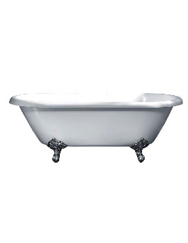 Traditional Roll Top Freestanding Double Ended Bath 1700 x 800mm