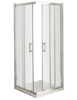 Framed Corner Entry Shower Enclosure 760mm