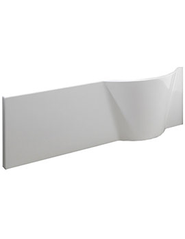 Pura Curve 1675mm Universal Shower Bath Front Panel