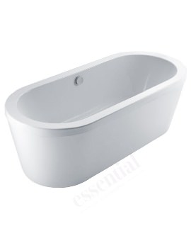 Essential Chelsea 1700 x 760mm Freestanding Double Ended Bath