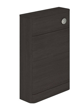 Essential Vermont 550 x 205mm Back To Wall WC Unit - Dark Grey