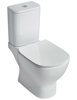 Tesi Aquablade Close Coupled WC Pan 665mm