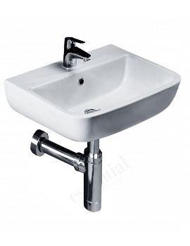 Orchid 400mm Wall Hung Basin With 1 Tap Hole