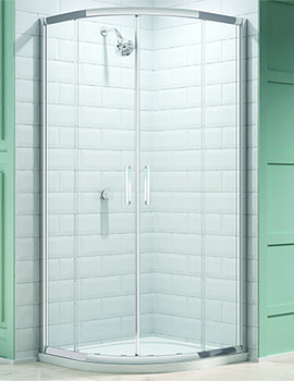 Merlyn 8 Series 800mm 2 Door Quadrant Shower Enclosure - M83211