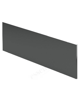 Essential Nevada 1700mm Grey Front Bath Panel