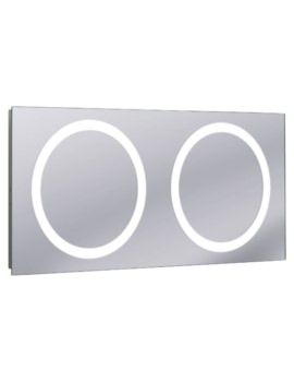 Edge Illuminated Mirror 1200 x 550mm
