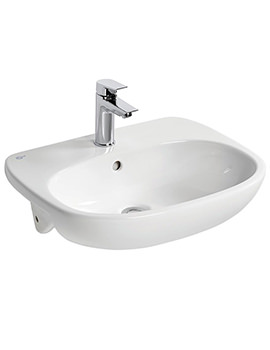 Tesi 550 x 450mm Semi-Countertop Washbasin