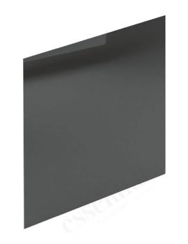 Essential Nevada 750mm Grey End Bath Panel