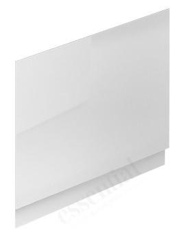 Essential Nevada 800mm White End Bath Panel