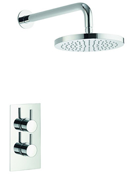 Arco Single Outlet Concealed Thermostatic Valve With Fixed Head