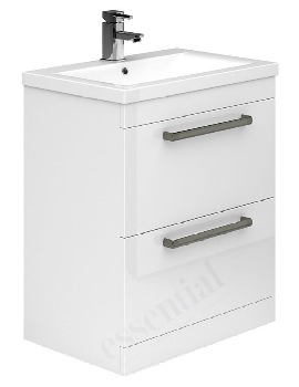Essential Nevada 800mm 2 Drawers Vanity Unit And Basin
