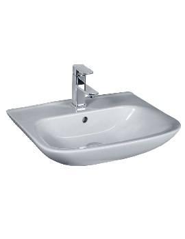 Violet 450mm Wide Basin With 1 Tap Hole