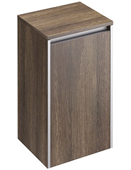 Xcite 350 x 300mm Light Oak Single Door Side Storage Unit