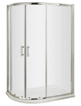Offset Quadrant Shower Enclosure 900 x 760mm