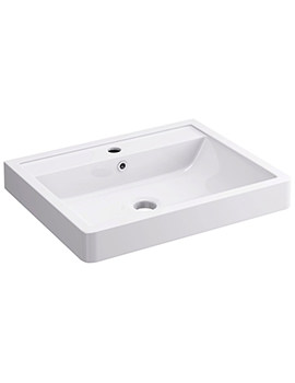 Flite 900 x 480mm 1 Tap Hole Basin