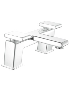 Pivot Deck Mounted Bath Filler Tap